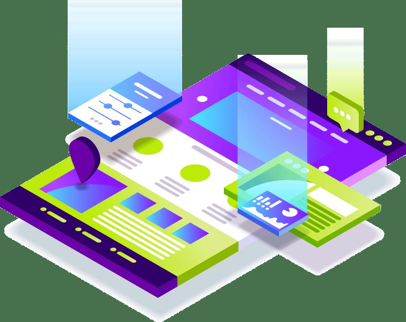 Eine Website mit verschiedenen Features, entwickelt mit Hilfe von Wordpress